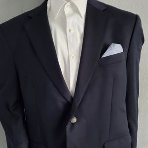 Micheal Kors Navy  Standard Wool Blazer Size 44R